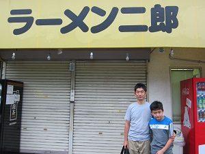 ラーメン二郎と黒烏龍茶