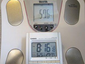 6ヶ月って期間で10キロ痩せた。