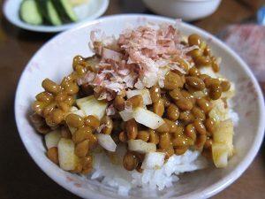 カレー玉ネギ納豆