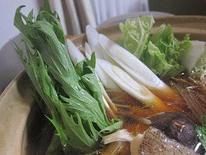 お野菜たっぷりのお鍋
