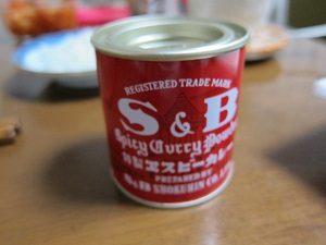 カレー粉はS&Bのカレー粉