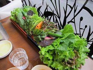くるむサンパ店で野菜をたくさん摂ろう!