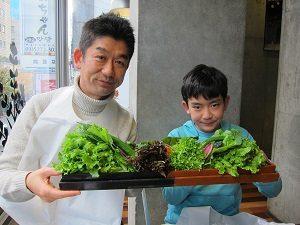 新大久保の韓国料理のお店、くるむサンパにて。