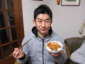 旦那くん、納豆ダイエット中!