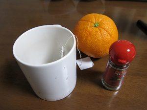 Amiが飲む紅茶はひと工夫加えてるんです