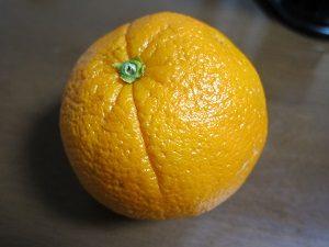 紅茶に入れるオレンジ