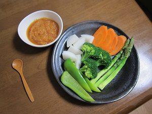 温野菜を食べるのもおススメ