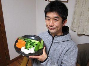旦那くん、温野菜ダイエット実施中!