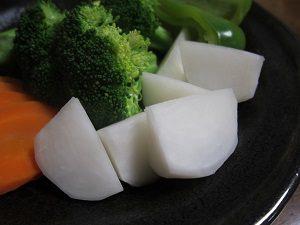 カブの温野菜