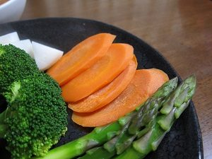 ニンジンの温野菜