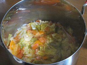 Amiが作った脂肪燃焼スープ