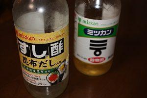 お酢の種類によって含まれる成分が異なります。
