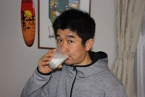 旦那くん、牛乳ダイエットの調子はどんな感じですか?