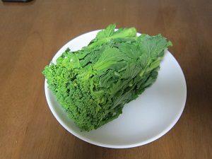 菜の花ってブロッコリーとよく合うよん。
