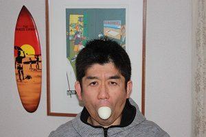 旦那くん、ゆで卵ダイエット中。