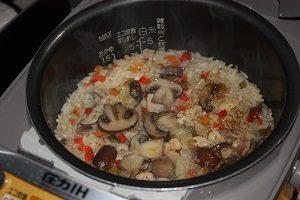 Amiが旦那くんの玄米ダイエットのために作った玄米ピラフ