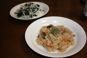 玄米ダイエットにはわかめをプラスするといいよん