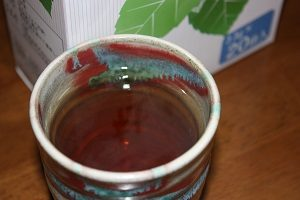 杜仲茶はホットで飲んでるよ