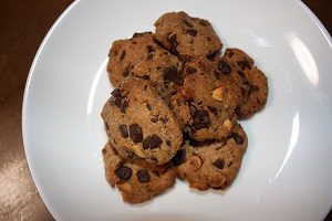 Amiが作ったダイエットクッキー。
