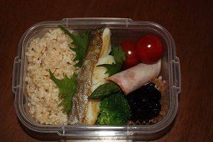 Amiが作ったダイエット向けのお弁当