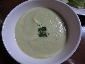 枝豆のスープ、作ったヨ