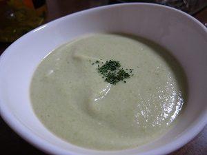 枝豆のスープ、夏にはピッタリだよん