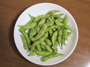枝豆は塩分に注意