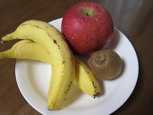 フルーツダイエット。りんご、バナナ、キウイフルーツでやってミタ