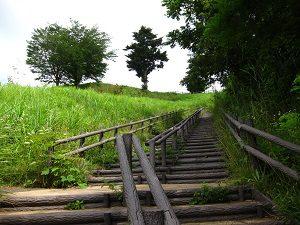 宮ヶ瀬湖の階段