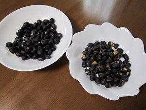 黒豆を200g食べたらお腹いっぱいにならない?