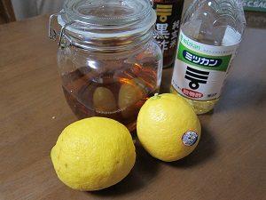 レモン酢はダイエットにイイよね