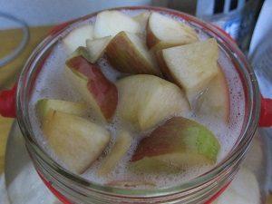 りんごの天然酵母