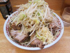 Amiの旦那くんが大好きなラーメン二郎。