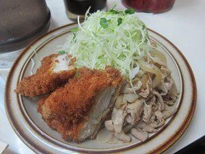 旦那くん、ダイエットを始める前のお昼はいつもこんな感じ。典型的な洋食でしょ?
