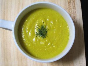 ネボケナマコには冷やしたかぼちゃスープってオイシイよ。
