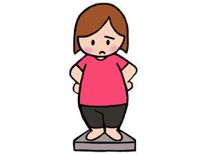 食べちゃった日も、そうじゃない日も。毎日体重計に乗り続ける。コレ、大切。