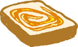 パンは全体的にカロリーは高めよん