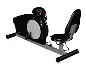 電磁負荷式エアロバイク