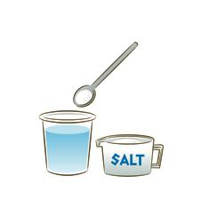みんな、塩水飲んだことある〜?(アタシはあるよ〜)