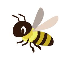 ハチにそんなパワーがあったとは!
