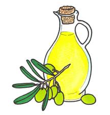地中海式ダイエットはオリーブオイルをふんだんに使うよ