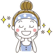 マシュマロヨーグルトの美肌効果〜♪