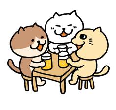 やっぱ、餃子にはビールだよな〜