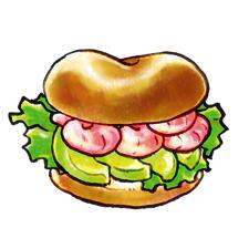 ライ麦か全粒粉のパンでアボカドのサンドイッチを作るのもおすすめよん。