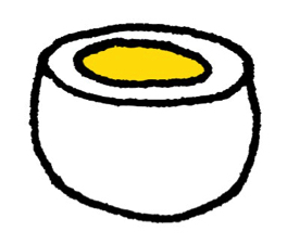 ゆで卵は完全食!